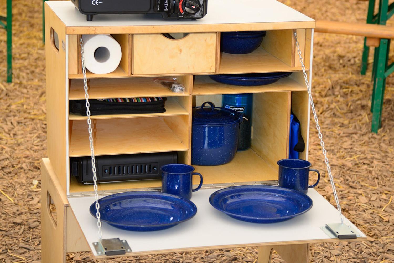 Classic-Kitchen befüllt