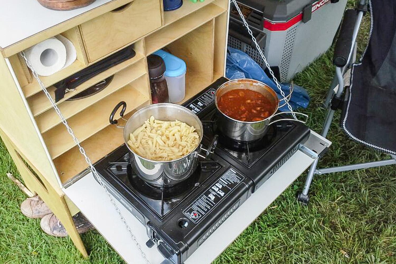 Classic-Kitchen im Einsatz