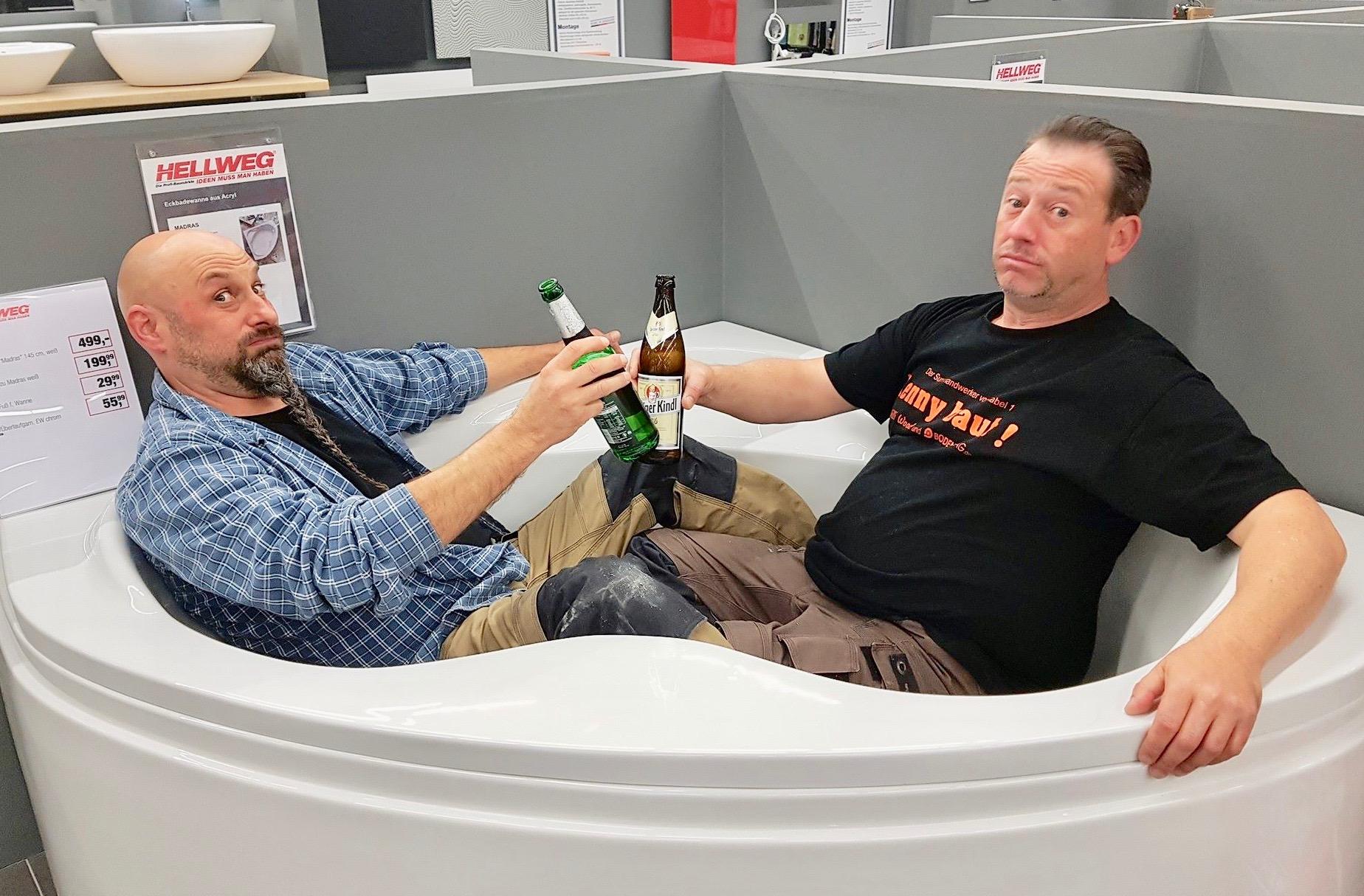 """Willi-Wood und Kenny von """"Abenteuer Leben"""" auf Tour"""