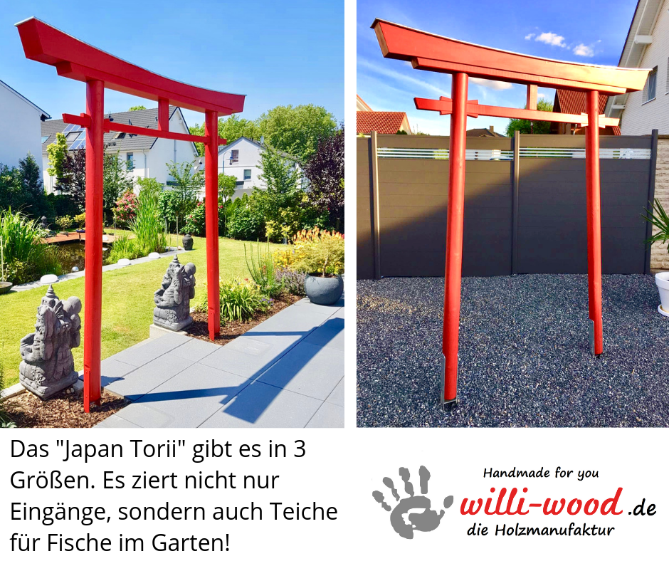 Das Japan Torii von Willi-Wood